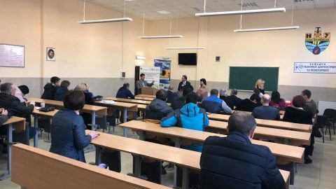 Група від NORD Університету провела оцінку ефективності проекту «Україна-Норвегія» за шість семестрів (2015 – 2017 роки)