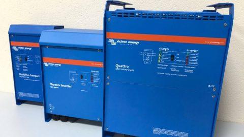 Навчальні взірці автономних інверторів та літій-ферум фосфатних акумуляторних батарей від компанії УТЕМ СОЛАР