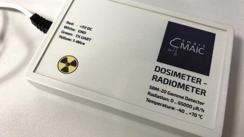 Тестуємо новинку – модуль моніторингу радіаційного фону